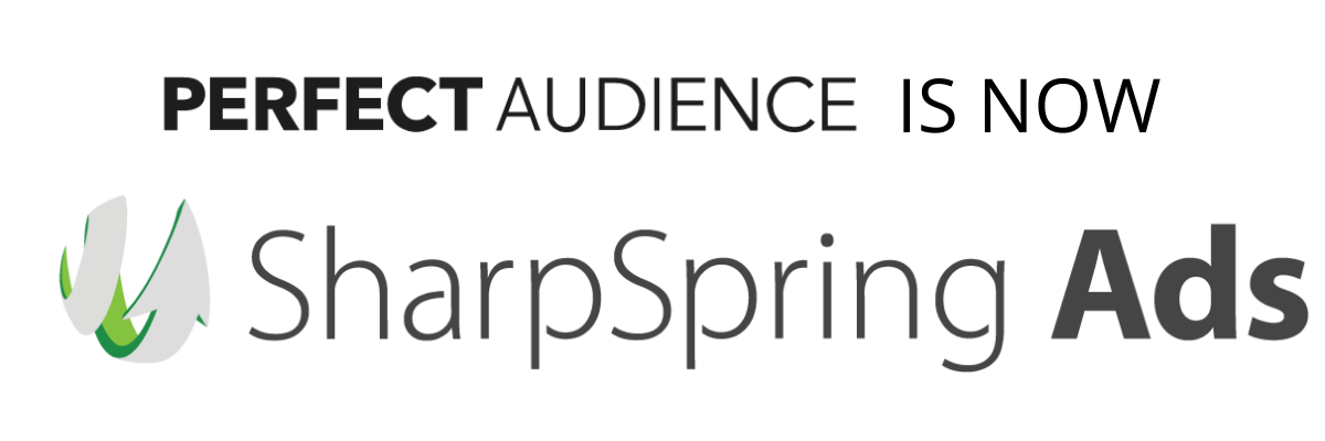 We are happy to announce that Perfect Audience has joined with the leading revenue growth platform, SharpSpring.